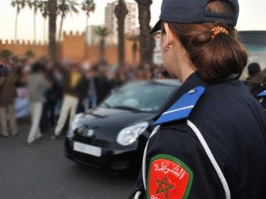 متابعة سيدة صفعت شرطية مرور بالرباط في حالة سراح