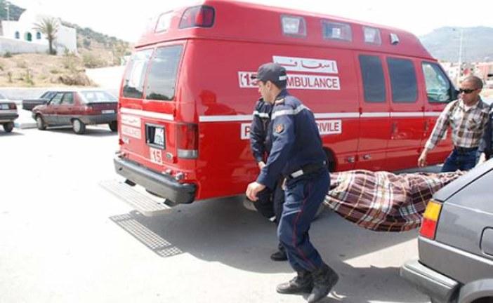 مصرع شخصين وإصابة آخرين بجروح في حادثة سير بجرسيف