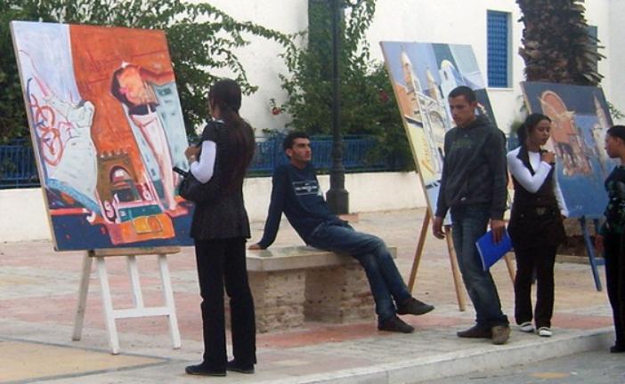 عرض يجمع نخبة من الفنانات المتألقات في مراكش