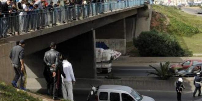 اعتقال قاصرين يرشقون سيارات مستعملي الطريق السيار بالبيضاء بالحجارة
