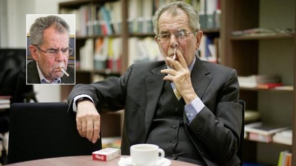 النمساوين ينتخبون رئيسا يدخّن أكثر من 40 سيجارة باليوم