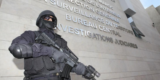 """الأمن المغربي يضرب بقوة… اعتقال """"دواعش"""" كانوا يخططون لضرب مواقع حساسة بالمملكة وحجز أسلحة نارية ومتفجرات"""
