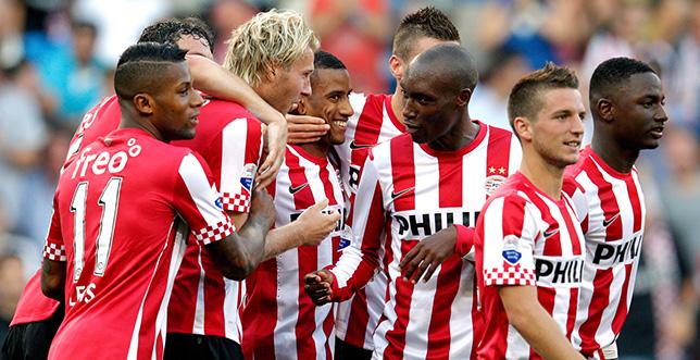 أيندهوفن يفوز ويحرز لقب الدوري الهولندي لكرة القدم