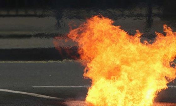 شخص يضرم النار في الجزء السفلي من جسده بإقليم تازة