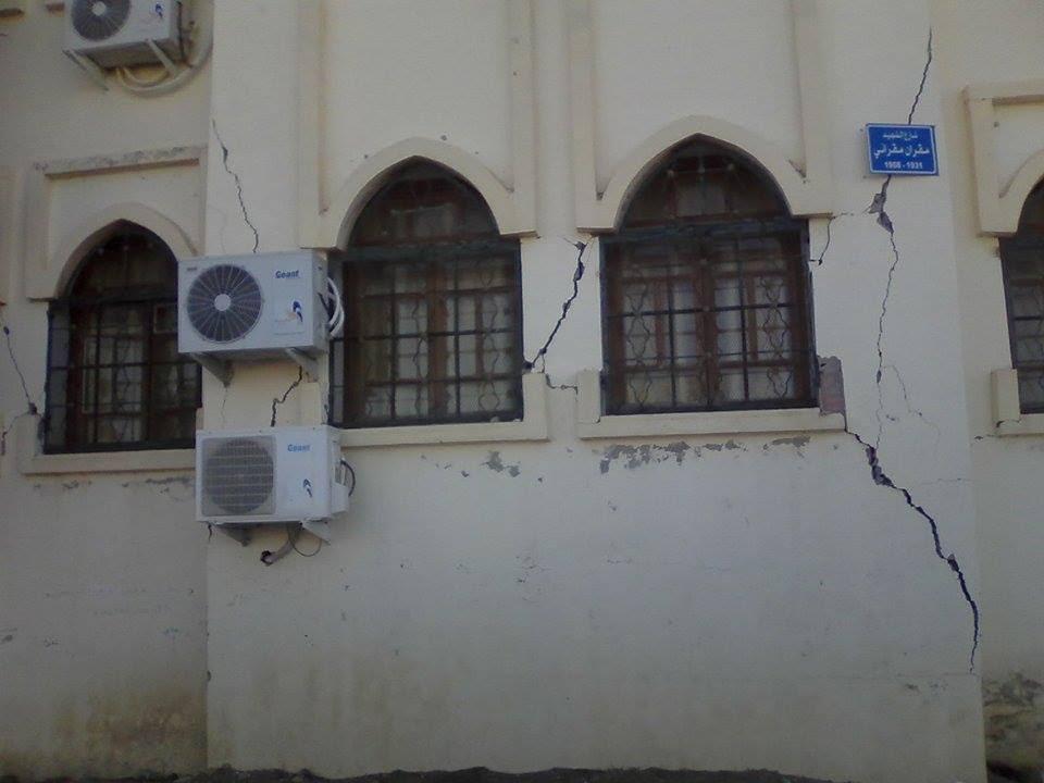 80 جريحا في هزة أرضية ضربت مدينة المدية الجزائرية