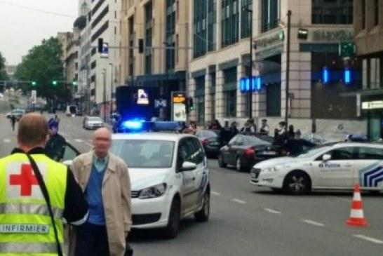 شاب يحمل حزاما ناسفا ويطلق إنذارا إرهابيا بالعاصمة البلجيكية بروكسيل