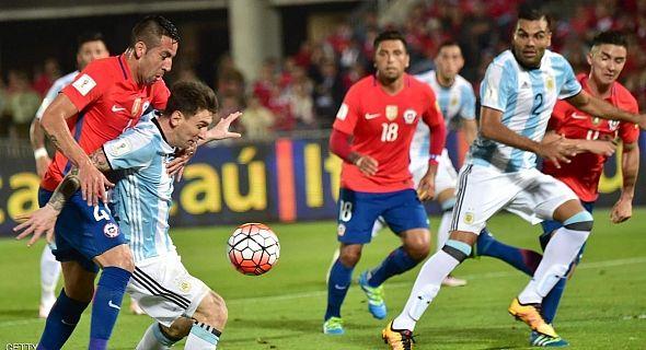 """التشيلي تنتزع بطولة """"كوبا أمريكا"""" لثاني مرة من الأرجنتين"""