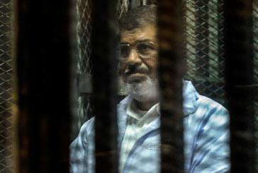 السجن المؤبد للرئيس المصري السابق مرسي في قضية التخابر مع قطر