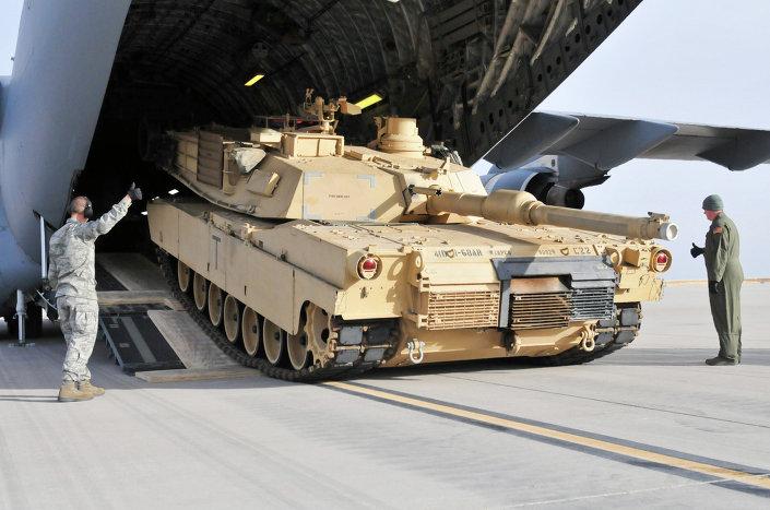 """المغرب يتسلم أولى دبابات """"أبرامز"""" الأمريكية"""