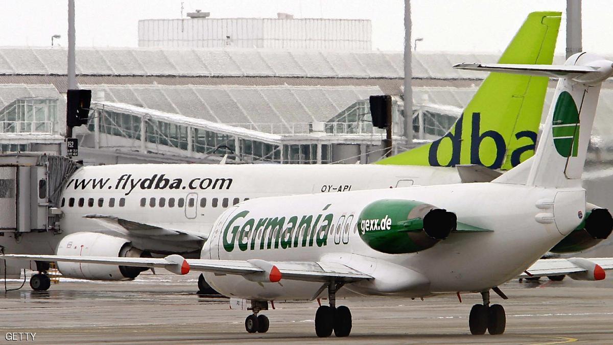 الشرطة الألمانية تخلي طائرة بعد تحذيرات من وجود خطر!