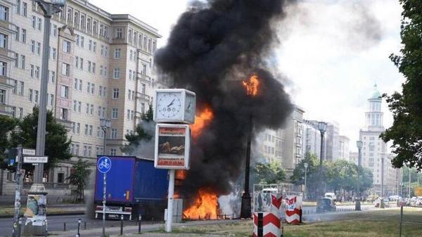  قتيل و10 جرحى في انفجار بمطعم قرب نورمبرغ بألمانيا
