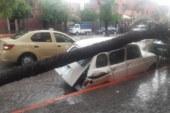 بالصور… أمطار عاصفية تخلف خسائر بالممتلكات بمراكش