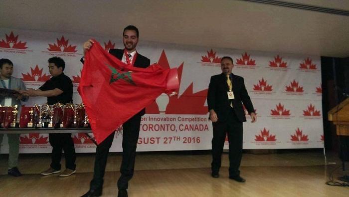مهندس مغربي يحرز الذهب في مسابقة للابتكار بكندا
