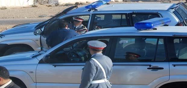 المسؤول الأول عن الدرك الملكي يودع دركيين سجن آسفي