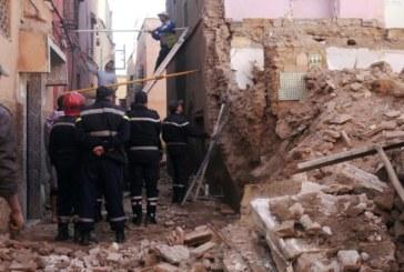 مصرع طفلين بعد انهيار أحد المنازل الآيلة للسقوط بمراكش