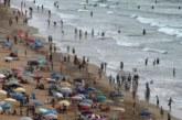 الوقاية المدنية تتدخل لمنع السباحة بأحد شواطئ الدار البيضاء