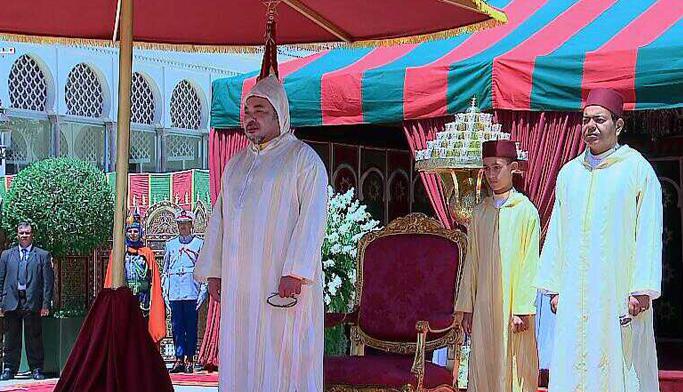 الملك محمد السادس يوشح فنانين ورياضيين وإعلاميين في عيد الشباببطنجة
