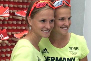"""توأم ألماني تصلان خط النهاية """"يداً بيد"""" في أولمبياد ريو + صورة"""