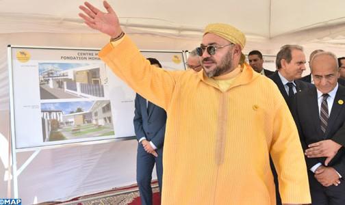 """الملك يعطي انطلاقة أشغال إنجاز """"مركز صحي للقرب – مؤسسة محمد الخامس للتضامن"""" بطنجة"""