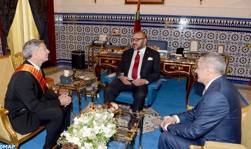 """الملك محمد السادس يستقبل رئيس """"بوينغ للطائرات التجارية"""""""
