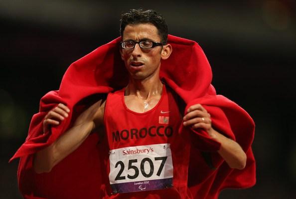 """الأمين شنتوف يحرز فضية سباق 5000 بالألعاب """"البارلمبية"""" بالبرازيل"""