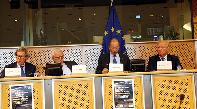 حصاد يقدم تجربة المغرب في محاربة الإرهاب أمام البرلمان الأوروبي