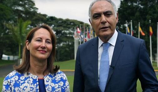 رويال: المغرب وفرنسا يعملان لتعبئة التمويلات لجعل كوب 22 مؤتمرا للعمل