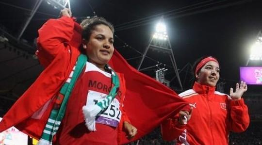 رفع العلم المغربي في القرية الأولمبية بريو دي جانيرو تزامنا مع (بارالمبيك) ريو 2016