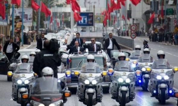 توقيف مجموعة من المتربصين بالموكب الملكي بالعديد من المدن المغربية