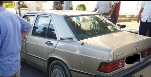 إيقاف سيارة بلوحة مزورة تستخدم في تهريب السجائر والمعسل بالبيضاء