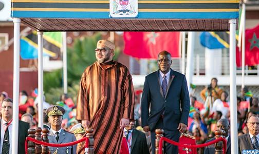 الملك محمد السادس يحل بدار السلام في زيارة رسمية لجمهورية تنزانيا