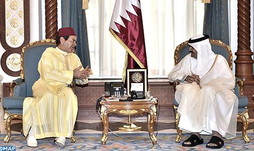الأمير مولاي رشيد يمثل الملك في تقديم التعازي في وفاة الشيخ خليفة بن حمد آل ثاني