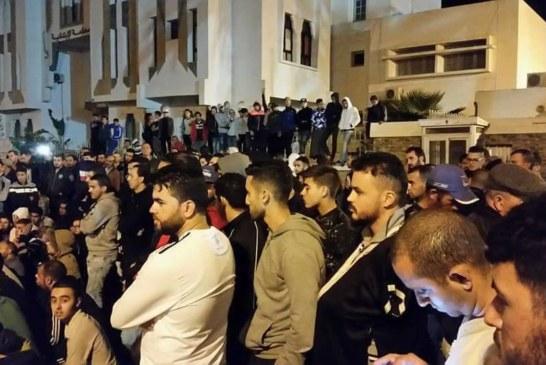وزارة الداخلية تتحرى حول ملثمين يثيرون الشغب بالحسيمة