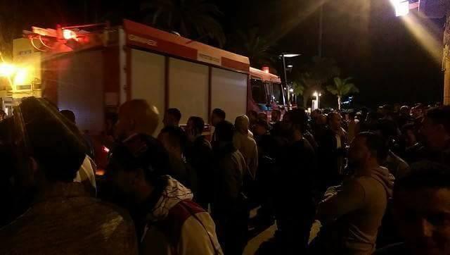 مصرع تاجر سمك في حادث مأساوي يشعل فتيل الاحتجاجات بالحسيمة