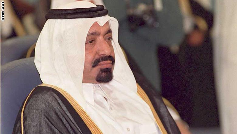 وفاة الشيخ خليفة بن حمد آل ثاني والد أمير قطر السابق