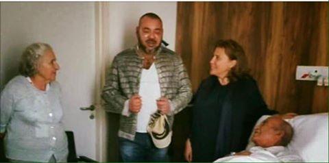 الملك محمد السادس يزور الزعيم اليوسفي للمرة الثانية للإطمئنان على صحته