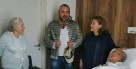 الزعيم اليوسفي يستعيد عافيته ويغادر مستشفى الشيخ خليفة + صورة