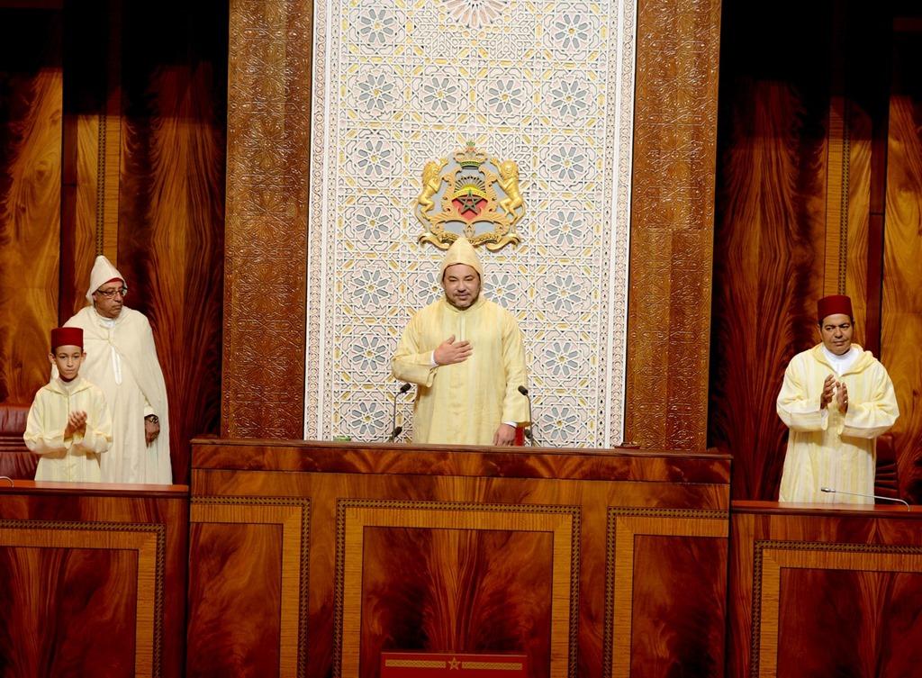 الملك يلقي خطابا تاريخيا في الدورة الأولى من السنة التشريعية الأولى من الولاية التشريعية العاشرة