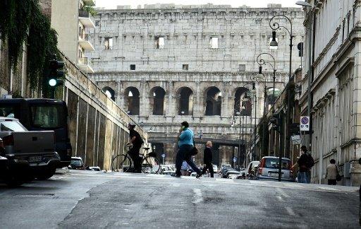 هزة عنيفة شعر بها سكان وسط ايطاليا وضمنها روما