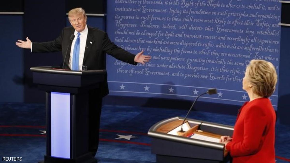 كواليس المناظرة الرئاسية الثانية بين كلينتون وترامب قبيل انطلاقها