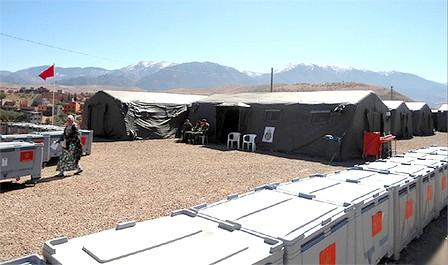 إقامة مستشفى عسكري متنقل بأنفكو لمساعدة السكان المحليين على مواجهة البرد