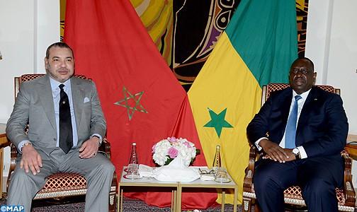 الملك محمد السادس يلقي خطاب المسيرة الخضراء من السنغال