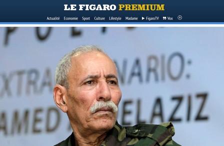 """""""لوفيغارو"""": اتهام إبراهيم غالي باسبانيا ضربة قاصمة للبوليساريو"""