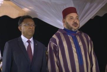 الملك بمدغشقر