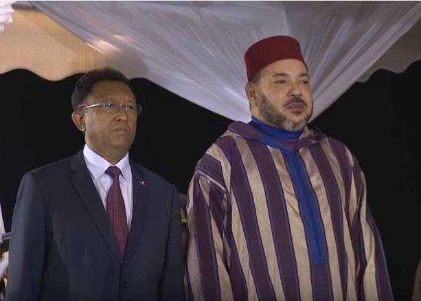 الملك محمد السادس يحل بأتاناناريفو في زيارة رسمية لمدغشقر