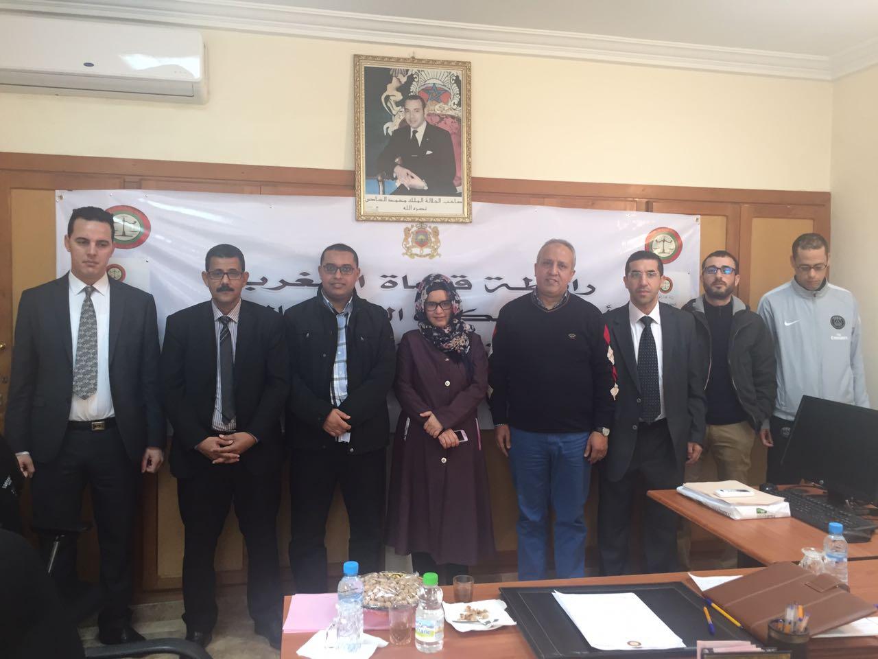 رابطة قضاة المغرب تؤسس مكتبها الجهوي بالدائرة الاستئنافية بالعيون