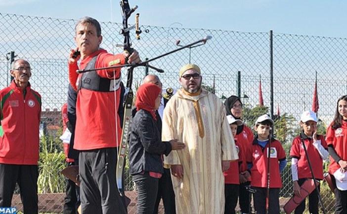 الملك يدشن مشروعين سوسيو-رياضيين بمدينة مراكش