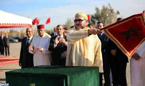 الملك يعطي انطلاقة أشغال إنجاز مركب إداري بميناء الدار البيضاء