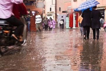 أمطار قوية مساء اليوم السبت وصباح غد الأحد في عدة مدن مغربية