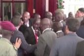بهدلة حرس عبد الفتاح السيسي يطلق العنان لسخرية المصريين + فيديو